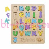 Вкладыш английский алфавит