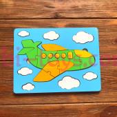 Мозаика- пазл самолётик