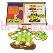 Мозаика динозаврик