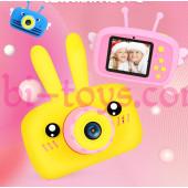 Фотоаппарат для детей желтый зайчик