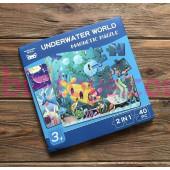 Магнитные пазлы подводный мир