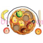 Игра с магнитами фрукты